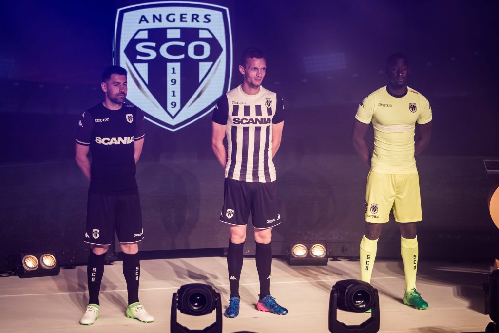 maillots de football SCO Angers 2018