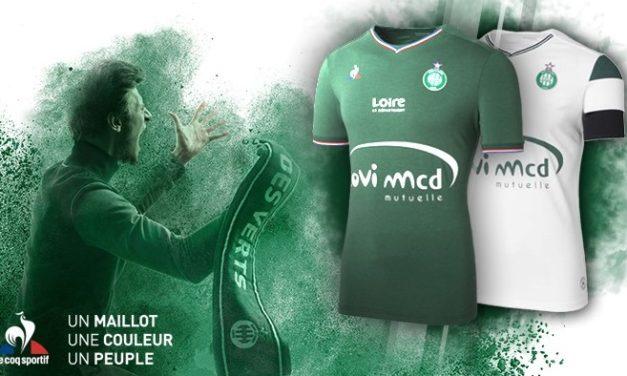 Saint-Etienne les nouveaux maillots ASSE 2018