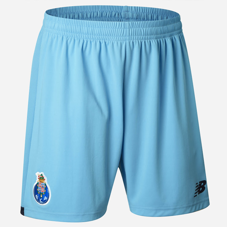 FC Porto 2018 short de foot third bleu ciel