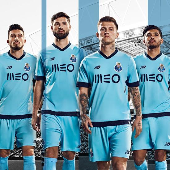 FC Porto 2018 troisieme maillot third officiel