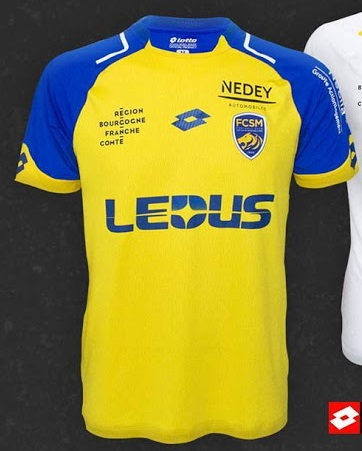 FC Sochaux 2018 maillot de foot domicile Umbro