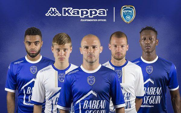 ESTAC les nouveaux maillots de foot Troyes 2018