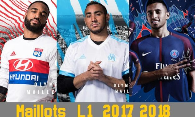Tous les maillots de Ligue 1 2017 2018