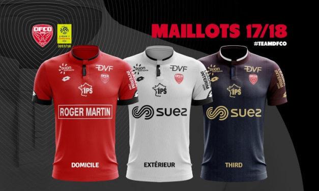 FCO Dijon 2018 les nouveaux maillots par Lotto