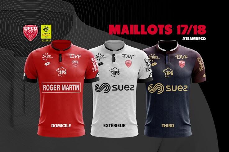 LOSC 2018 nouveau maillot de foot Lille 2017 2018 domicile