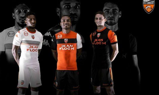 FC Lorient 2018 les nouveaux maillots par Kappa