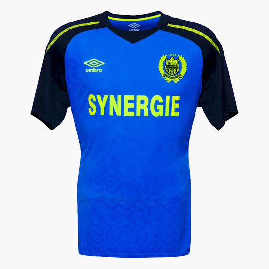 FC Nantes 2018 maillot Umbro exterieur