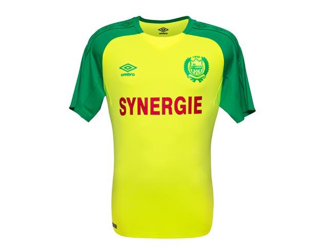 FC Nantes 2018 maillot domicile Umbro
