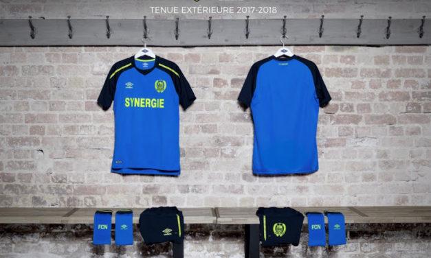 Nouveaux maillot de foot du FC Nantes 2018