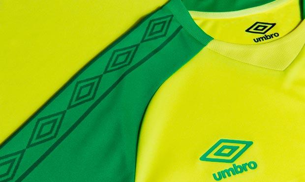 FC Nantes nouveau maillot domicile 17 18 Umbro