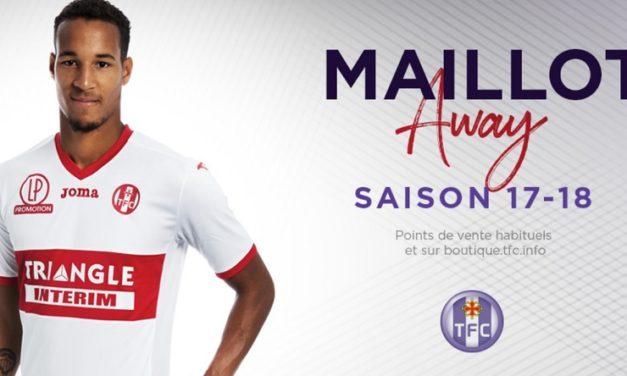 FC Toulouse 2018 nouveaux maillot de foot