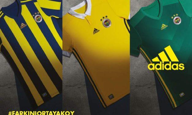 Adidas présente les maillots de foot Fenerbahce 2018
