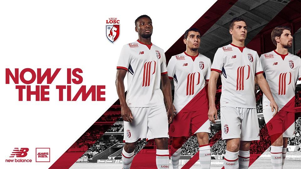 LOSC 2018 maillot exterieur Lille foot