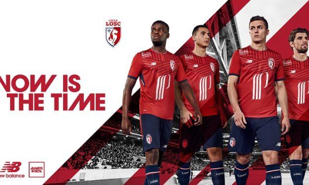 LOSC 2018 les nouveaux maillot de Lille 2017 2018