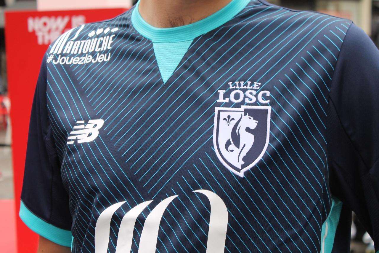 LOSC 2018 troisieme maillot third 17 18