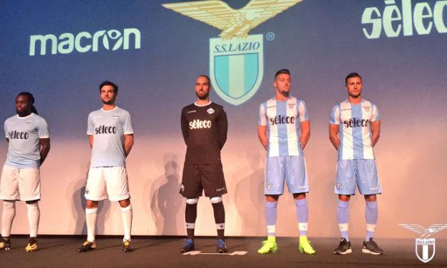 Lazio 2018 les nouveaux maillots Lazio de Rome 17-18