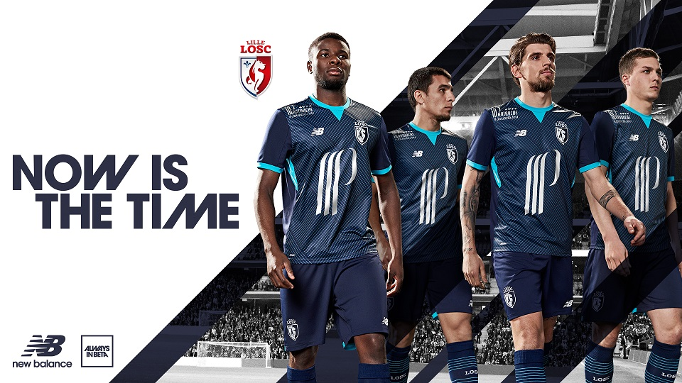 Lille 2018 troisième maillot de foot LOSC 17 18