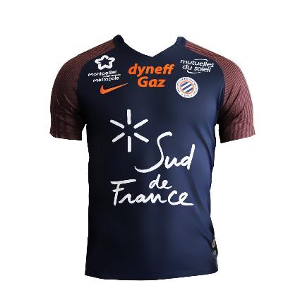 MHSC Montpellier 2018 maillot de football 17 18 domicile