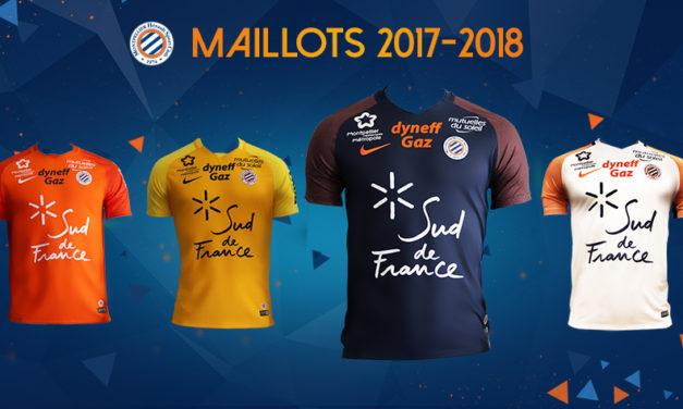 MHSC maillots de foot Montpellier 2018 en hommage à Nicollin