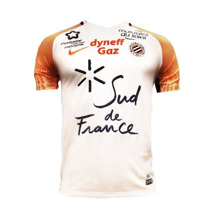 Montpellier 2018 maillot de football extérieur 2017 2018 Nike