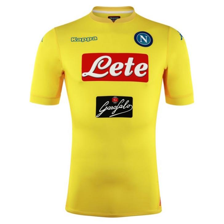 Naples 17 18 maillot exterieur foot