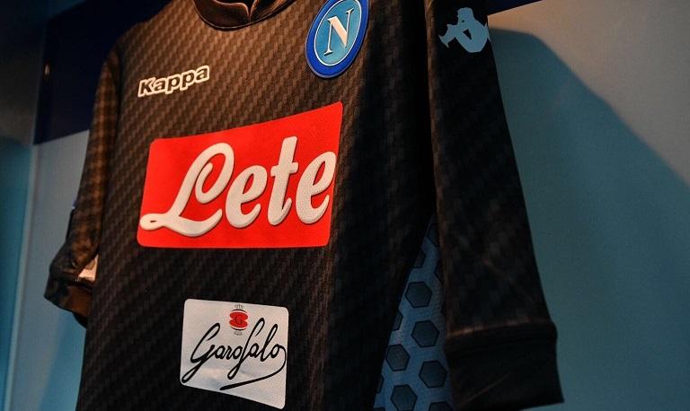 Naples 2017 2018 maillot de foot carbonne Kappa