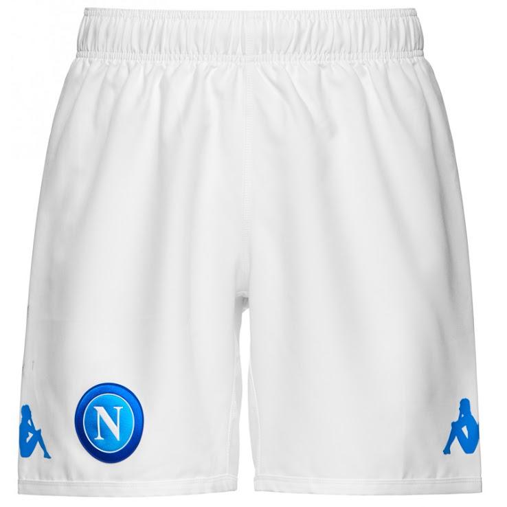 Naples 2017 2018 short de foot domicile