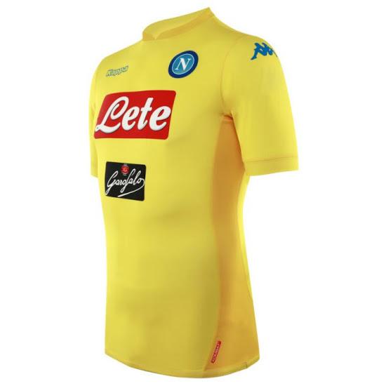 Naples 2018 maillot de foot exterieur 2017 2018