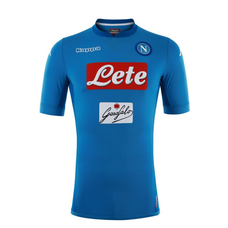 Naples 2018 maillot domicile 17 18 football