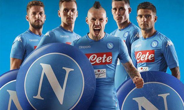 Informations sur les maillots de football Naples 2018