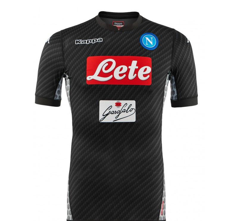 Naples 2018 maillot football carbonne foot Kappa