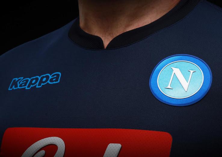 Naples 2018 maillot third Kappa
