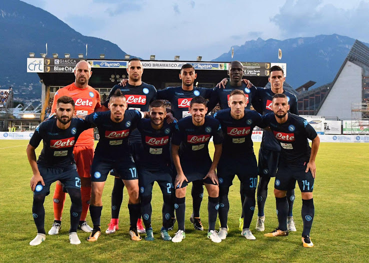 Naples 2018 troisieme maillot officiel third Kappa 17 18