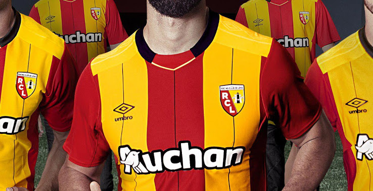 RC Lens 2018 maillot de foot domicile