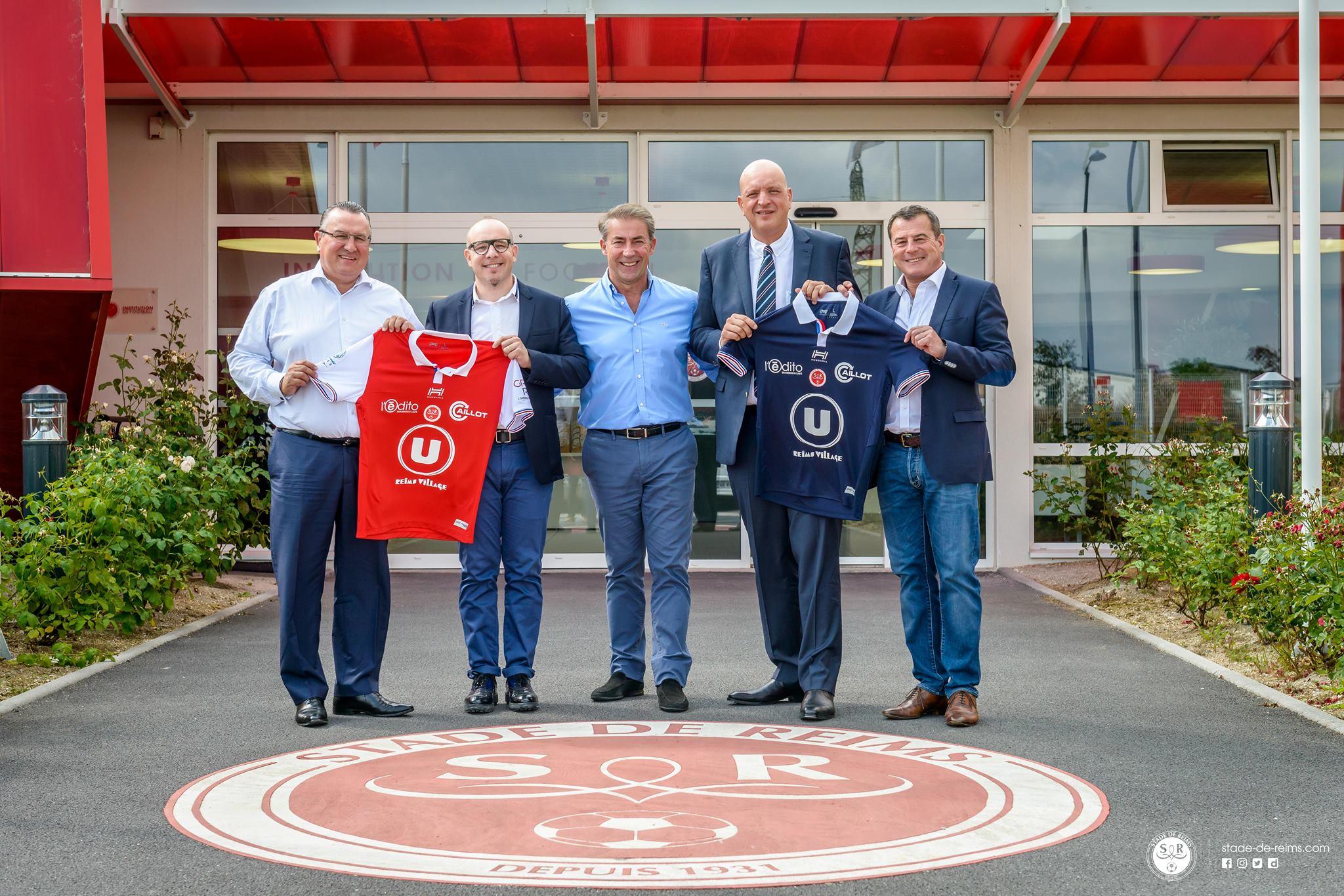 Reims 2018 maillots de foot L2 Hungaria