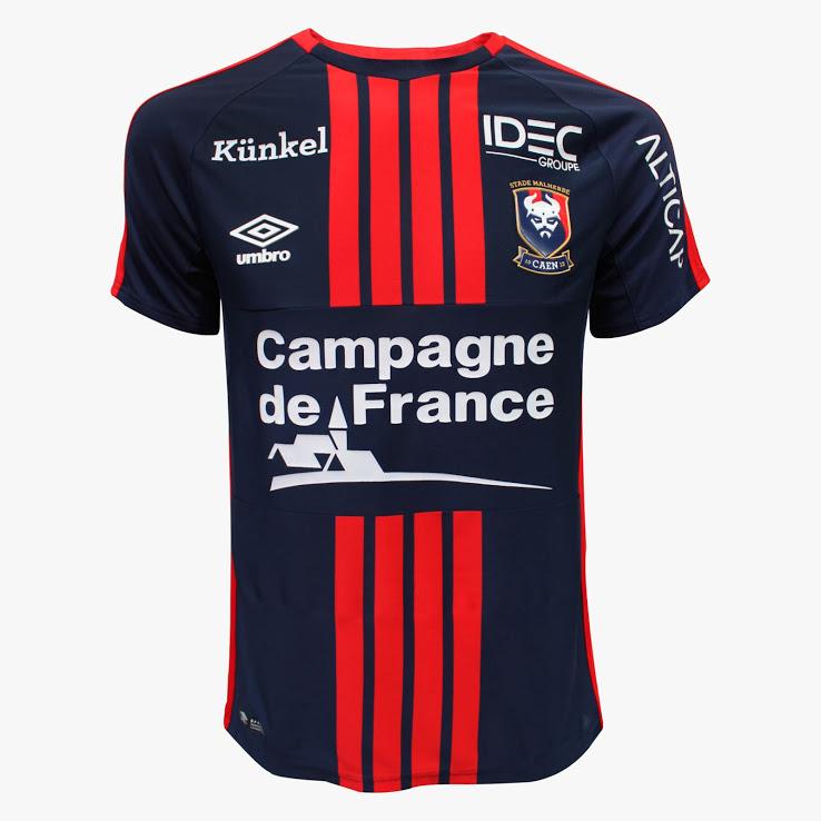 SM Caen 2018 maillot foot Umbro officiel