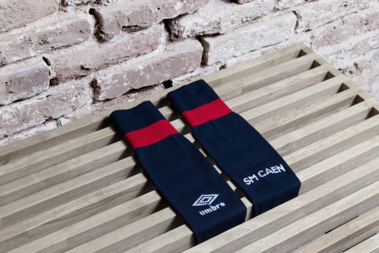 SM Caen chaussettes de foot 17 18