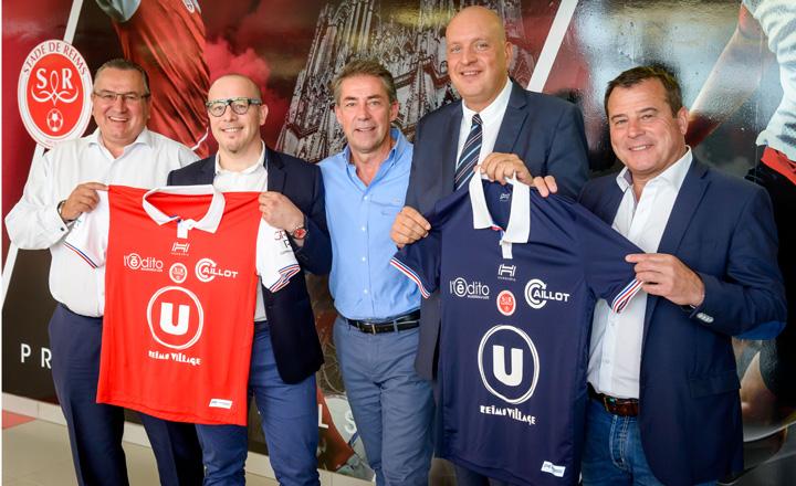 Stade de Reims 2018 maillots de football 17 18