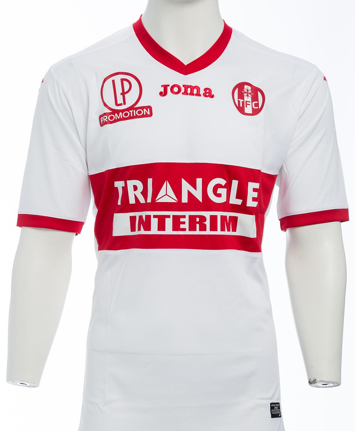 Toulouse 2018 maillot de foot exterieur blanc