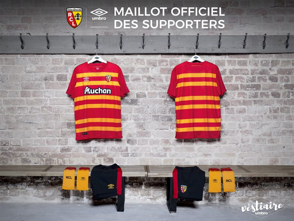 maillot football rc lens umbro maillot supporters 2017 2018