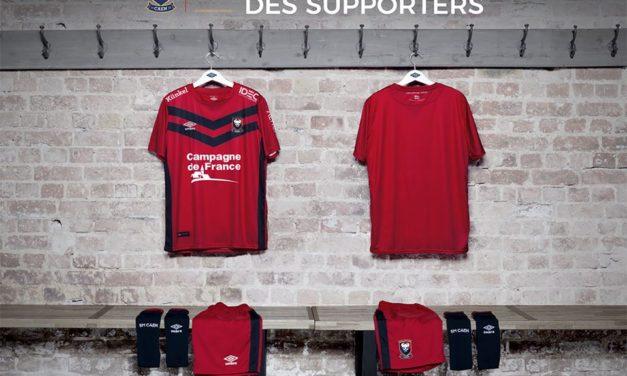 SM Caen 2018 le nouveau maillot de foot Umbro