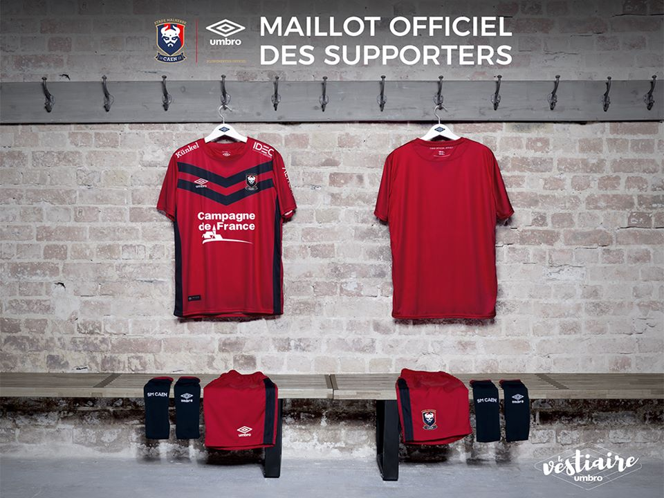maillot football sm caen umbro maillot supporters