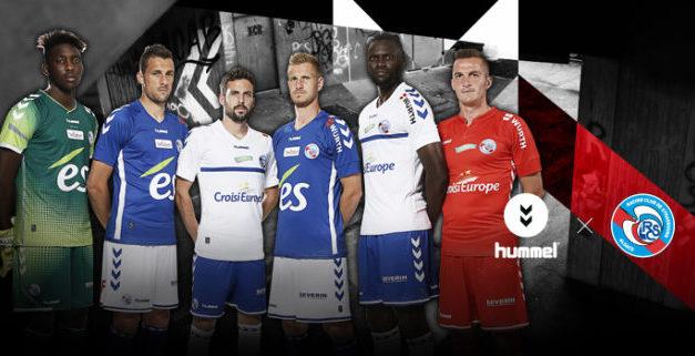 Les 3 nouveaux maillots du RC Strasbourg 2018