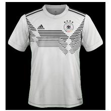 maillot domicile Allemagne coupe du monde 2018