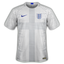 Angleterre 2018 maillot foot domicile coupe du monde 2018