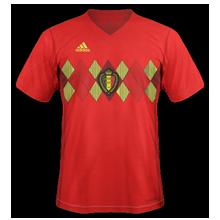 Belgique 2018 maillot coupe du monde inspiré par ancien modèle