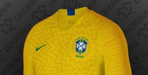 Brésil 2018 maillots de football coupe du monde 2018