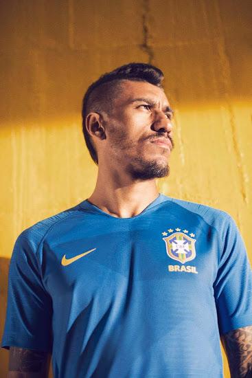 Bresil 2018 maillot exterieur coupe du monde Nike