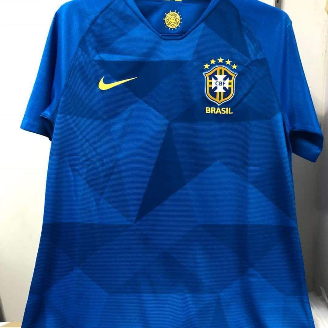 Bresil 2018 maillot exterieur foot coupe du monde 2018