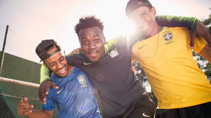 Bresil 2018 maillots de foot coupe du monde 2018